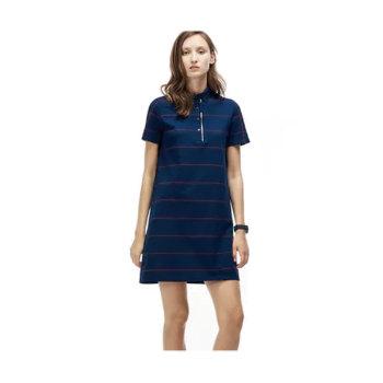 라코스테 스트라이프 피케 폴로 드레스 $185→$91.99