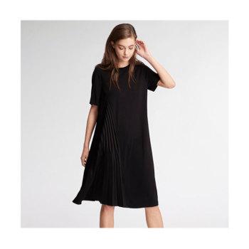 DKNY 비대칭 플리츠 드레스 $299 → $179