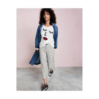 [ootd] 메이드웰이 제안하는 그래픽 스웨터와 와이드 크롭팬츠