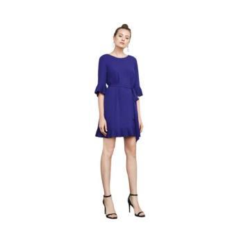 BCBG 막스아즈리아 케일라 러플 드레스 $248 → $100.8