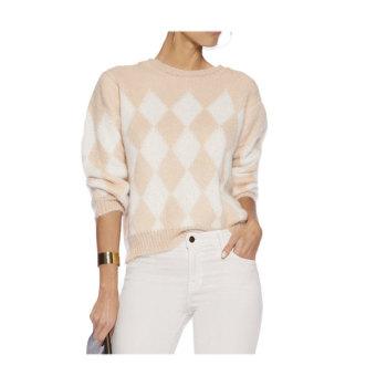 산드로 Intarsia 스웨터 (수애 착용) 181.27파운드 → 87.5파운드