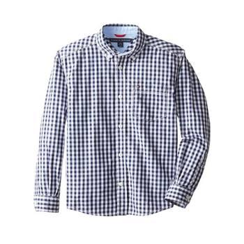 (가격 인하) 타미 힐피거 빅 보이즈 체크 우븐 셔츠 $39.5 → $20.99