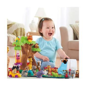 리틀피플 소리나는 동물원 장난감 세트 $70 → $29.99