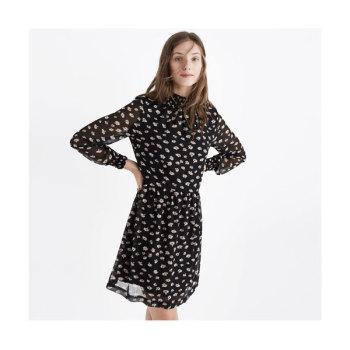 메이드웰 플로랄 모크넥(mockneck) 드레스 $158 → $94.4
