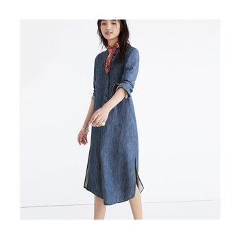 메이드웰 데님 셔츠 드레스 $138 → $98