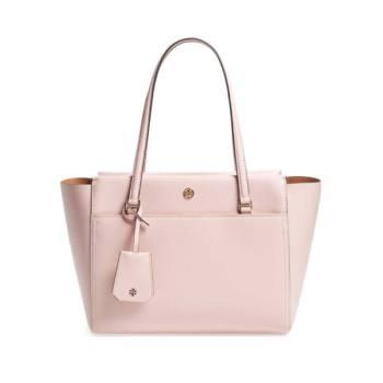 토리버치 스몰 파커 레더 토트백(핑크) $268 → $179.56
