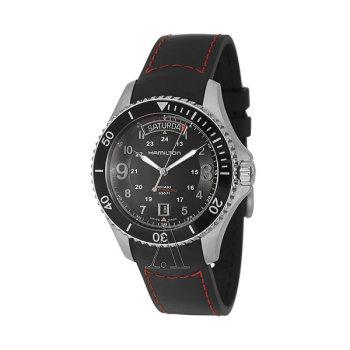 [블프 세일] 해밀턴 H64515337 카키 네이비 스쿠버 오토매틱 남성 시계 $625 → $299