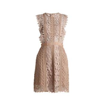 셀프 포트레이트 Daisy-vine 레이스 드레스 $301 → $210