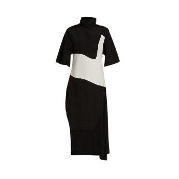 아크네 스튜디오 Dilona 콘트라스트 패널 드레스 $1,116 → $398.2