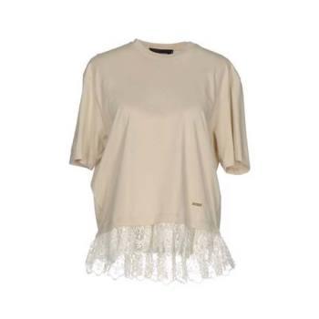 디스퀘어드2 레이스 페플럼 티셔츠 $214 → $66