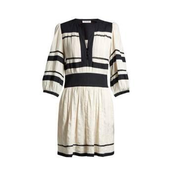 이자벨 마랑 에뚜왈 램지 브이넥 드레스 $553 → $196