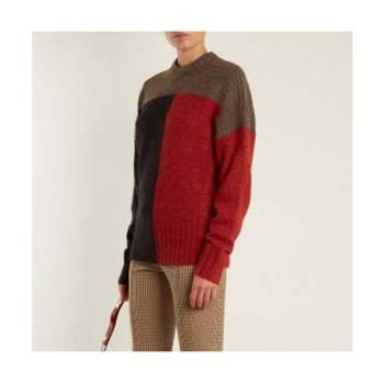 이자벨 마랑 에뚜왈 컬러블록 니트 스웨터 $545 → $194
