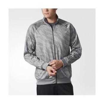 아디다스 맨즈 에센셜 삼선 트랙 재킷 그레이 $55 → $19.99