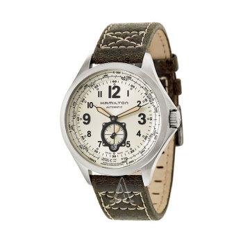 해밀턴 H76655723 카키 에비에이션QNE 남성 시계 $1,195 → $375