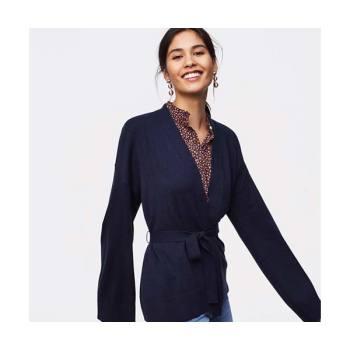 로프트 세일 상품 추가 40% 할인 + 정상가 스웨터 상품 $20 할인 + 정상가 상품 $100 이상 구매 시 $50 할인