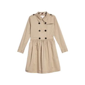 버버리 걸즈 릴리아나 트렌치 드레스 $245→ $170.99