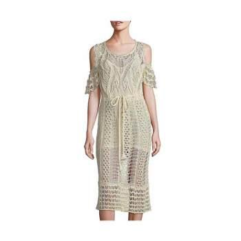 끌로에 콜드 숄더 코튼 드레스 $475 → $151.99