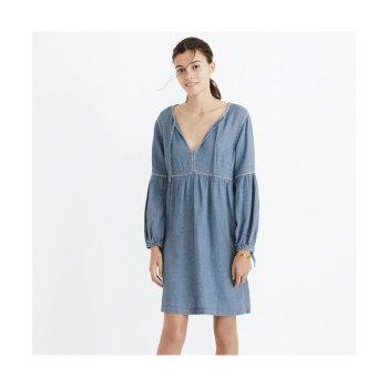 메이드웰 인디고 드레스 $128 → $78.4