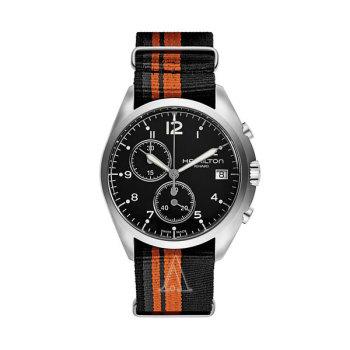 해밀턴H76552933 카키 에비에이션 파일럿 파이오니어 크로노 남성 시계 $595 → $249