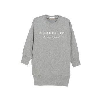 버버리 걸즈 스웻셔츠 드레스 $215→ $128.98