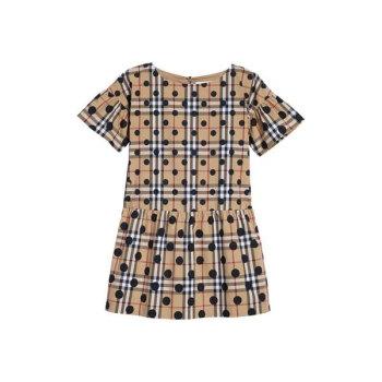 버버리 걸즈 애나벨라 드롭 드레스 $255→ $178.5