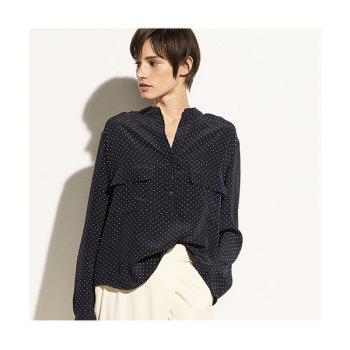 (손예진 착용) 빈스 폴카도트 실크 셔츠 $325 → $186.25