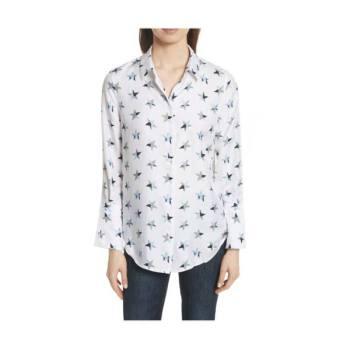 이큅먼트 별 프린트 실크 셔츠 $288 → $115.2