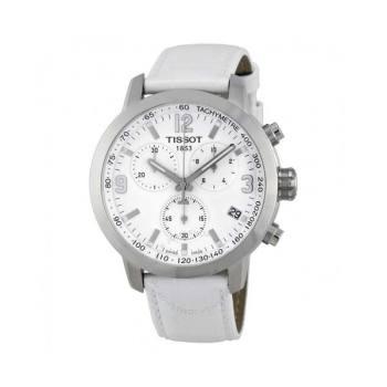 티쏘 PRC200 크로노그래프 흰색 남성 시계 $525 → $169.99