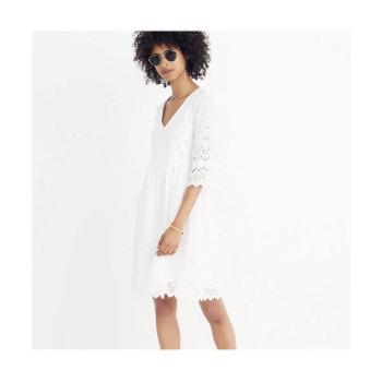 메이드웰 아일렛 드레스 $168 → $89.99