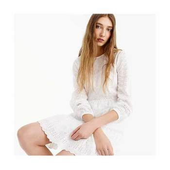 (오늘만) 제이크루 아일릿 플러터 드레스 $128 → $34.99