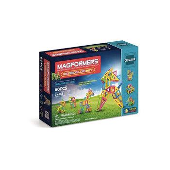 맥포머스 크리에이터 60피스 네온 컬러 세트 $99.99 → $52.85