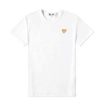 (서현진 착용) 꼼데가르송 여성 하트 티셔츠 82,599원 + 한국 무료 직배송