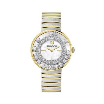 (한예슬 착용) 스와로브스키 크리스탈 투톤 시계 $649 → $129.5