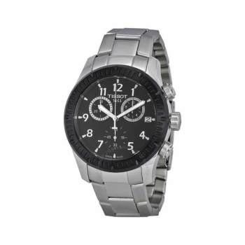 티쏘 V8 크로노그래프 블랙 다이얼 남성 시계 $495 → $195