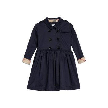 버버리 걸즈 릴리아나 트렌치 드레스 $245→ $171.49
