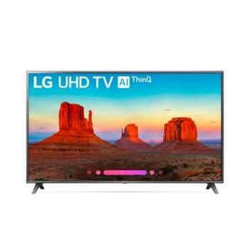 LG75UK6570PUB75인치 4K 스마트 LED TV $2,197→ $1,199
