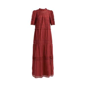 (20% 추가 할인) (가격 인하) 이자벨 마랑 에뚜왈 Vealy 레이스 코튼 맥시 드레스 $627 → $310 + 한국 직배송 무료