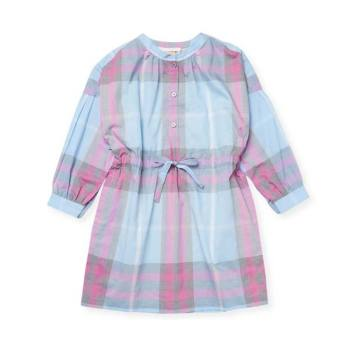버버리 키즈 여아용 체크 셔츠 드레스 $235 → $169.6