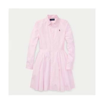 폴로 랄프로렌 걸즈 코튼 옥스포드 셔츠 드레스 $59.5 → $14.99