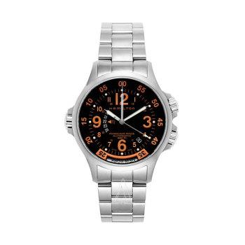 해밀턴 H77665173 카키 에비에이션 GMT 에어 레이스 남성 시계 $945 → $429