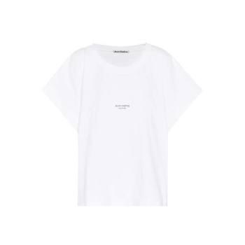 아크네 스튜디오 로고 코튼 티셔츠 145유로 → 101유로