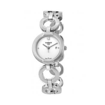 티쏘 핑키 화이트 여성 시계 $325 → $124.99