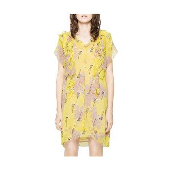 (손나은 착용 다른 버전) 쟈딕 앤 볼테르 RIVEL 블러썸 드레스 $258→ $139.32
