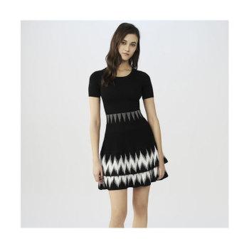 (손예진 착용) 마쥬 RALIA 러플 니트 드레스 $395 → $158