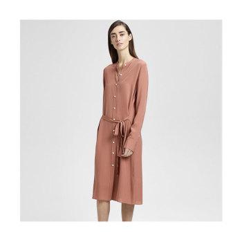 띠어리 실크 튜닉 드레스 $455 → $136.5