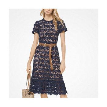 (손예진 착용) 마이클 마이클 코어스 플로럴 레이스 드레스 $325 → $195