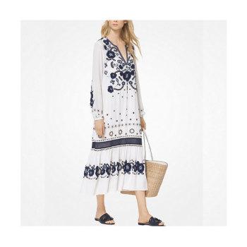(손예진 착용) 마이클 마이클 코어스 플로럴 자수 드레스 $495 → $297