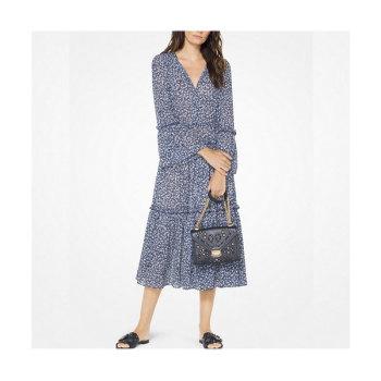 (손예진 착용) 마이클 마이클 코어스 플로럴 티어드 드레스 $175 → $78.75