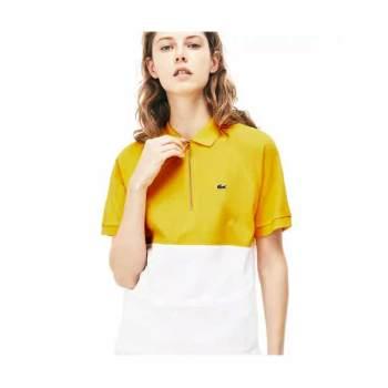 (손연재 착용) 라코스테 우먼 슬림핏 폴로 셔츠 $125 → $74.99 + $20 추가 할인