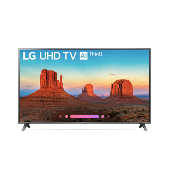 LG 70UK6570PUB 70인치Class 4K HDR Smart LED AI UHD TV $1,600 → $999